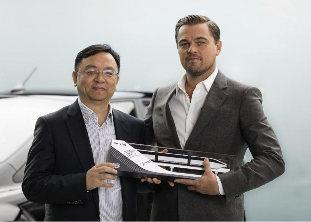 Leonardo DiCaprio named brand ambassador in China for BYD new energy vehicles