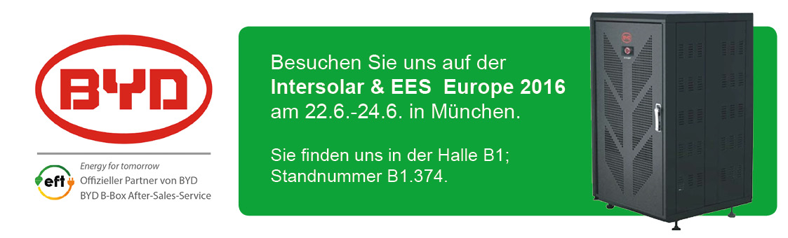 Intersolar & EES Europe 2016